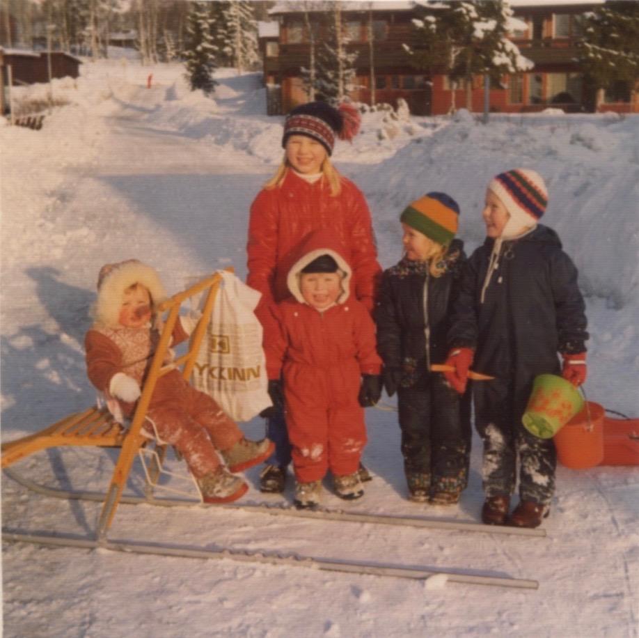 1974: Ny spark til jul! Den var fin å ha til butikken. Foto: Nina Christiansen