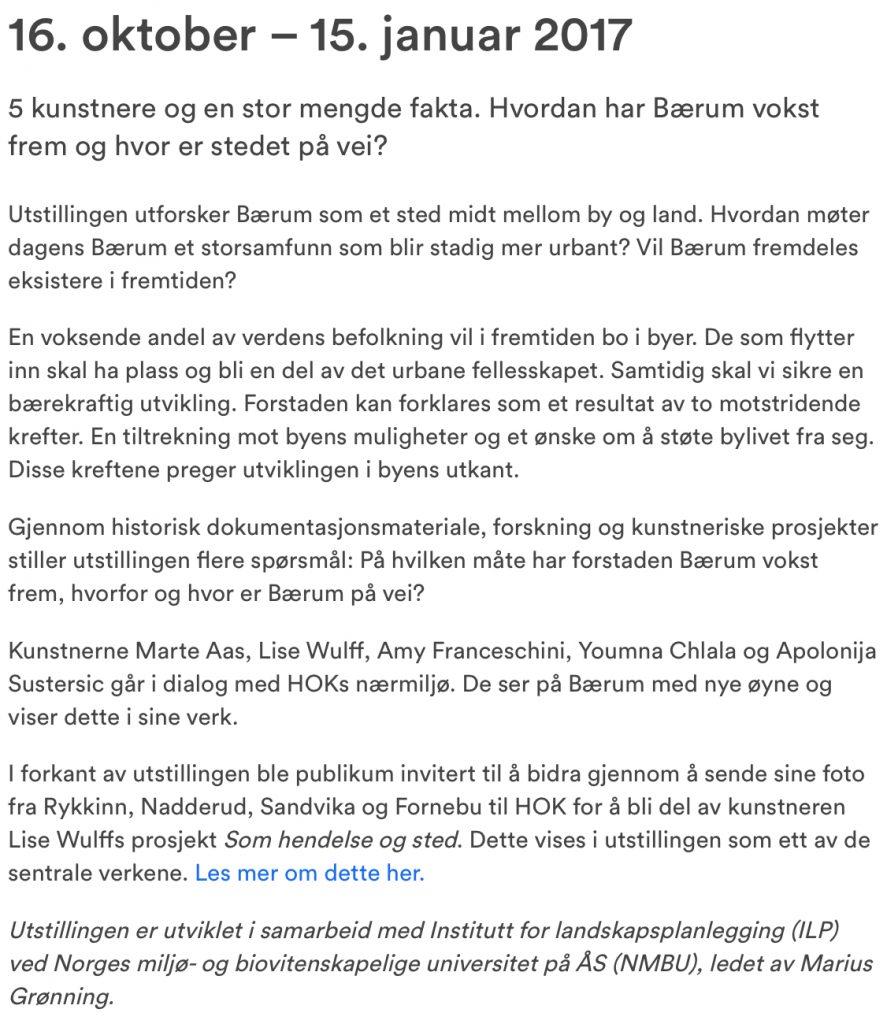 hok no om UTOPIA BÆRUM